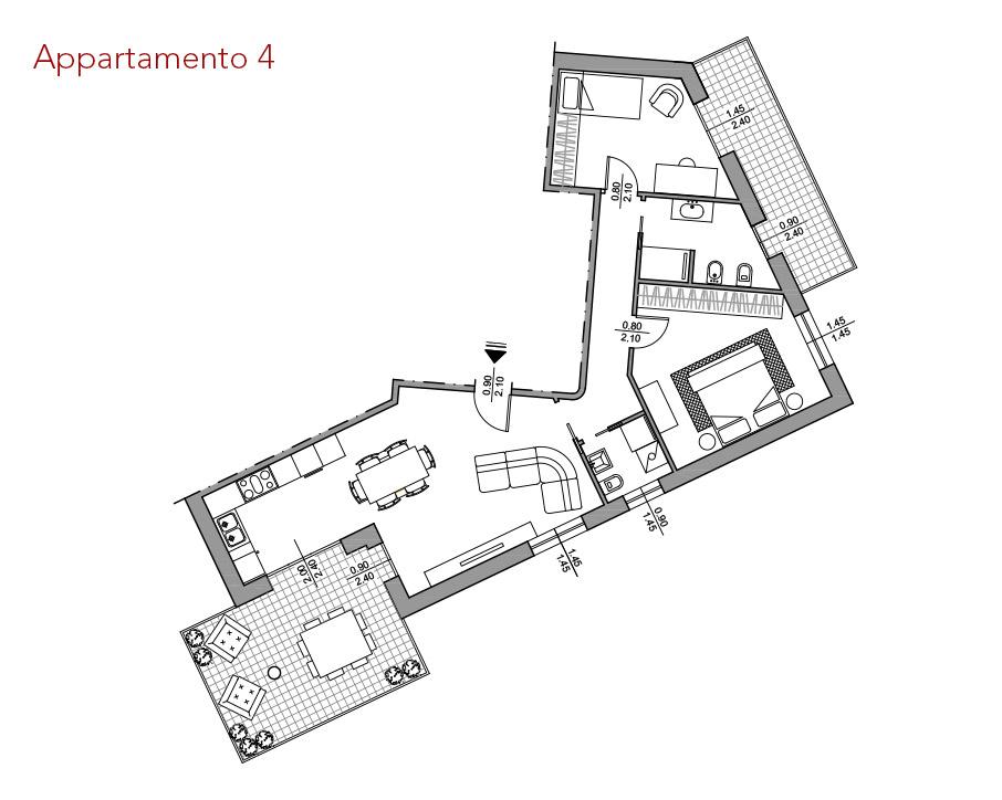 condominio-residenza-da-vinci-verona-appartamento-4-pianta-arredata-edilpasquali