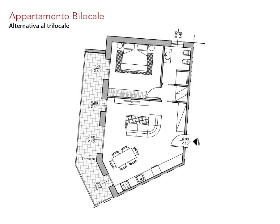 condominio-residenza-da-vinci-verona-appartamento-bilocale-pianta-arredata-edilpasquali