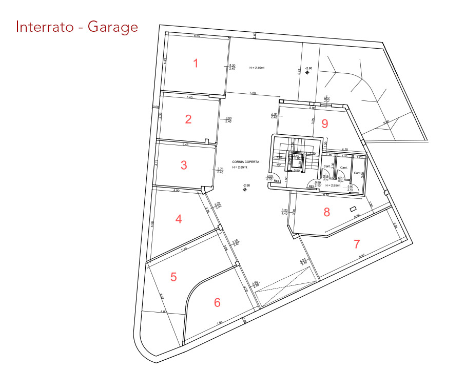 condominio-residenza-da-vinci-verona-appartamento-garage-pianta-arredata-edilpasquali